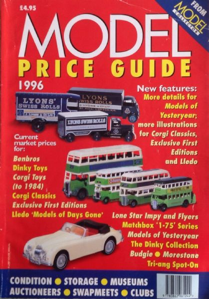 ORIGINAL MODEL COLLECTOR MAGAZINE PRICE GUIDE 1996 Edition